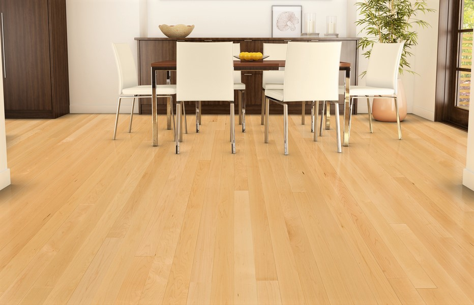 Maple Hardwood Flooring - Curtis Carpets