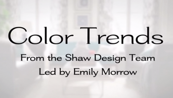Color Trends with Shaw