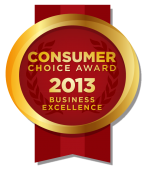 Consumer Choice Award 2013 - Business Excellence