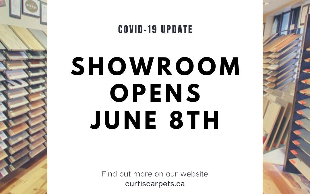 Curtis Carpets Showroom Opens June 8th