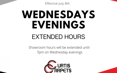 Showroom Hours Extended