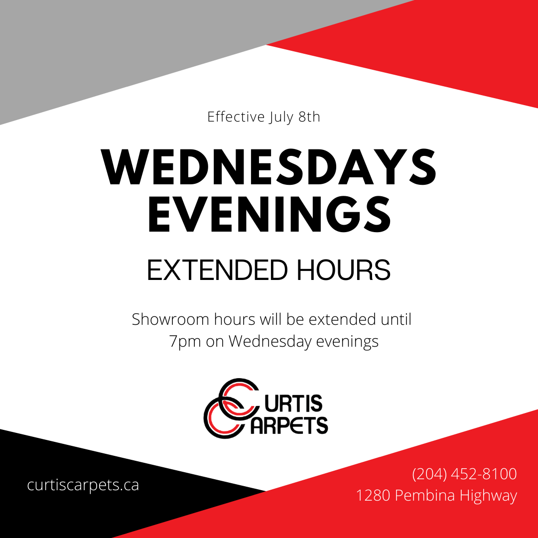 Curtis Carpets Showroom Hours Extended