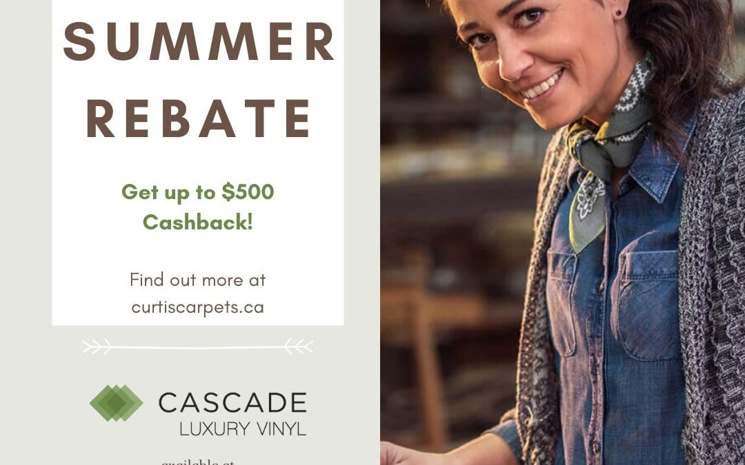 Cascade Summer Rebate