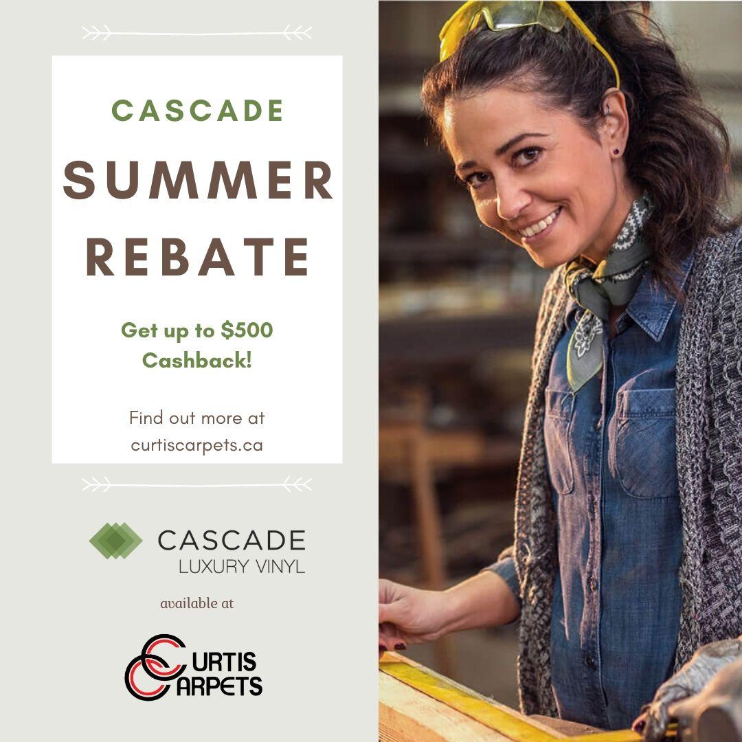 Cascade Summer Rebate