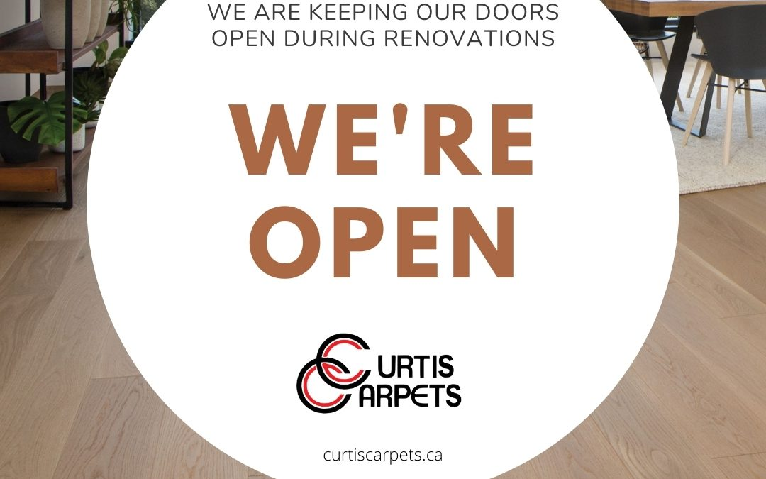 We're Keeping Our Doors Open During Renovations