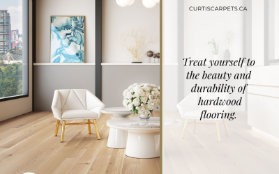 Treat yourself to the beauty and durability of  hardwood flooring